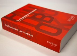 Image of the last paper edition of the Queensland Law Handbook