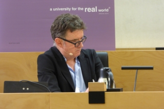 Moderator Paul Barclay