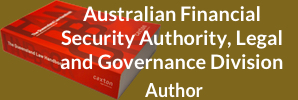 Australian Financial Security Authority, Legal and Governance Division - Author